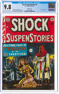 Shock SuspenStories #6 Gaines File Pedigree 6/12 (EC, 1952) CGC NM/MT 9.8 Off-white to white pages