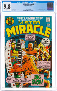 Mister Miracle #4 (DC, 1971) CGC NM/MT 9.8 White pages