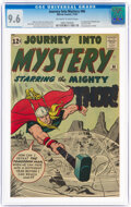 Silver Age (1956-1969):Superhero, Journey Into Mystery #86 (Marvel, 1962) CGC NM+ 9.6 Off-white to white pages....