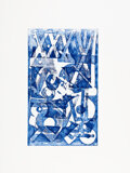 Prints & Multiples, RETNA (b. 1979). Watermark II, c. 2012. Etching in color on wove paper. 30 x 22-1/2 inches (76.2 x 57.2 cm) (sheet). Ed....