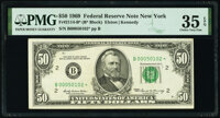 Fr. 2114-B* $50 1969 Federal Reserve Note. PMG Choice Very Fine 35 EPQ