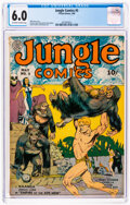 Golden Age (1938-1955):Adventure, Jungle Comics #5 (Fiction House, 1940) CGC FN 6.0 Off-white to white pages....