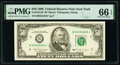 Fr. 2124-B* $50 1990 Federal Reserve Star Note. PMG Gem Uncirculated 66 EPQ
