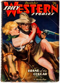 Pulps:Western, Spicy Western Stories - December 1936 (Culture) Condition: VG....