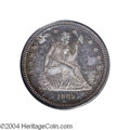 Proof Seated Quarters: , 1862 25C PR65 PCGS. One of only 550 pieces produced, ...