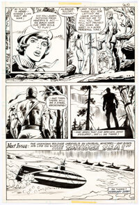 Dick Ayers and Romeo Tanghal Unknown Soldier #214 Story Page 17 Original Art (DC, 1978)