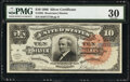 Large Size:Silver Certificates, Fr. 294 $10 1886 Silver Certificate PMG Very Fine 30.. ...