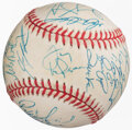 Autographs:Baseballs, 2000 St. Louis Cardinals Team Signed Baseball, PSA.