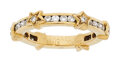 Estate Jewelry:Rings, Chanel Diamond, Gold Eternity Band, French . ...