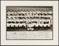 Baseball Collectibles:Photos, 1954 New York Giants Team Photograph. Offered is ...