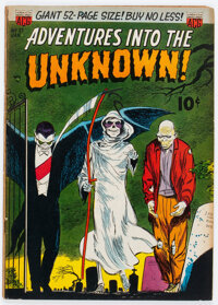 Adventures Into The Unknown #27 (ACG, 1952) Condition: VG