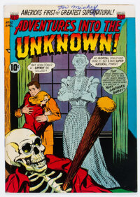 Adventures Into The Unknown #42 (ACG, 1953) Condition: FN-