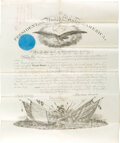 Autographs:U.S. Presidents, Abraham Lincoln Military Appointment Signed. One ...