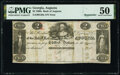 Augusta, GA- Bank of Augusta $2 18__ G38a Remainder PMG About Uncirculated 50