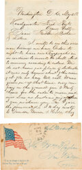 Military & Patriotic, Union Soldier's Letter Home....