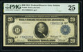 Large Size:Federal Reserve Notes, Fr. 984 $20 1914 Federal Reserve Note PMG Very Fine 25.. ...