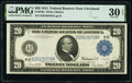 Large Size:Federal Reserve Notes, Fr. 979a $20 1914 Federal Reserve Note PMG Very Fine 30 EPQ.. ...