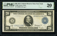 Fr. 969 $20 1914 Federal Reserve Note PMG Very Fine 20