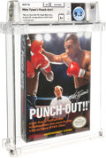 Video Games:Nintendo, Mike Tyson's Punch-Out!! - Wata 9.2 A+ Sealed [Oval SOQ TM, Later Production], NES Nintendo 1987 USA....
