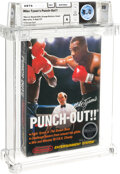 Video Games:Nintendo, Mike Tyson's Punch-Out!! - Wata 8.0 A Sealed [Rev-A, Round SOQ, Mid-Production], NES Nintendo 1987 USA....