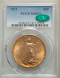 1912 $20 MS63+ PCGS. CAC. PCGS Population: (1400/516 and 45/40+). NGC Census: (365/188 and 2/9+). CDN: $2,550 Whsle. Bid...