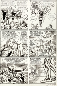 Jack Kirby and Dick Ayers The Avengers #1 Story Page 21 Original Art (Marvel, 1963)