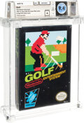 Video Games:Nintendo, Golf - Wata 9.4 A Sealed [Oval SOQ TM, Later Production] (Hawaii Collection), NES Nintendo 1985 USA. ...