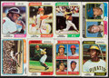 Baseball Cards:Sets, 1974 Topps Baseball Near Set (657/660) With Traded Set (44) and Team Checklist Cards (24). ...