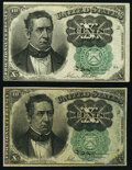 Fr. 1264 10¢ Fifth Issue Two Examples New