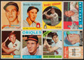 Baseball Cards:Lots, 1957-1968 Topps Brooks Robinson Collection (8) With Rookie...