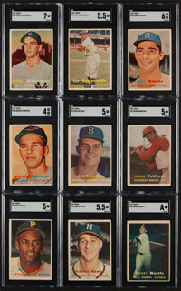 1957 Topps Baseball Complete Set (407) Plus 3 Checklists
