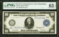 Fr. 915a $10 1914 Federal Reserve Note PMG Choice Uncirculated 63 EPQ