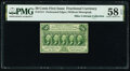 Fr. 1311 50¢ First Issue PMG Choice About Unc 58 EPQ