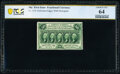 Fractional Currency:First Issue, Fr. 1310 50¢ First Issue PCGS Banknote Choice Unc 64.. ...