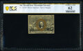 Fractional Currency:Second Issue, Fr. 1314SP 50¢ Second Issue Narrow Margin Face PCGS Banknote Uncirculated 62.. ...