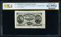 Fractional Currency:Third Issue, Fr. 1275SP 15¢ Third Issue Wide Margin Face PCGS Banknote Uncirculated 62 PPQ.. ...