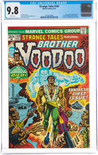 Strange Tales #169 Brother Voodoo (Marvel, 1973) CGC NM/MT 9.8 White pages
