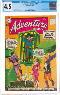 Adventure Comics #267 (DC, 1959) CGC VG+ 4.5 Cream to off-white pages