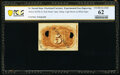 Fractional Currency:Second Issue, Milton 2E5R.1h 5¢ Second Issue Experimental Back Courtesy Autograph PCGS Banknote Uncirculated 62, 2 POCs.. ...