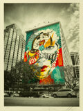 Prints & Multiples, Shepard Fairey X Sandra Chevrier. The Beauty of Liberty and Equality by Jon Furlong, 2020. Screenprint in colors on Cove...