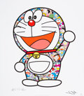 Prints & Multiples, Takashi Murakami (b.1962). Doraemon, Thank you, 2018. Offset lithograph in colors on smooth wove paper. 25-3/4 x 22-1/2 ...