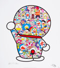 Prints & Multiples, Takashi Murakami (b. 1962). Mr. Fujiko F. Fujio and Doraemon Are in the Field of Flowers, 2018. Offset lithograph in col...