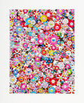 Prints & Multiples, Takashi Murakami (b. 1962). Dazzling Circus: Embrace Peace and Darkness Within Thy Heart, 2020. Archival pigment print i...
