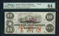 Obsoletes By State:Louisiana, New Orleans, LA- New Orleans Canal and Banking Company $5 18__ G12a Remainder PMG Gem Uncirculated 65 EPQ;. Charlesto... (Total: 2 notes)
