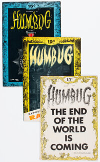 Humbug Group of 8 (Humbug, 1957-58) Condition: Average VF.... (Total: 8 Comic Books)