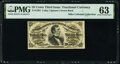 Fractional Currency:Third Issue, Fr. 1294 25¢ Third Issue PMG Choice Uncirculated 63.. ...