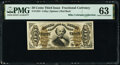 Fractional Currency:Third Issue, Fr. 1324 50¢ Third Issue Spinner PMG Choice Uncirculated 63.. ...