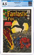 Silver Age (1956-1969):Superhero, Fantastic Four #52 (Marvel, 1966) CGC VG+ 4.5 White pages....