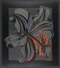 Prints & Multiples, Lowell Nesbitt (1933-1993). Lily, 1988. Screenprint in colors on black wove paper. 36 x 31 inches (91.4 x 78.7 cm) (imag...