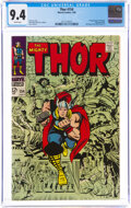 Silver Age (1956-1969):Superhero, Thor #154 (Marvel, 1968) CGC NM 9.4 White pages....
